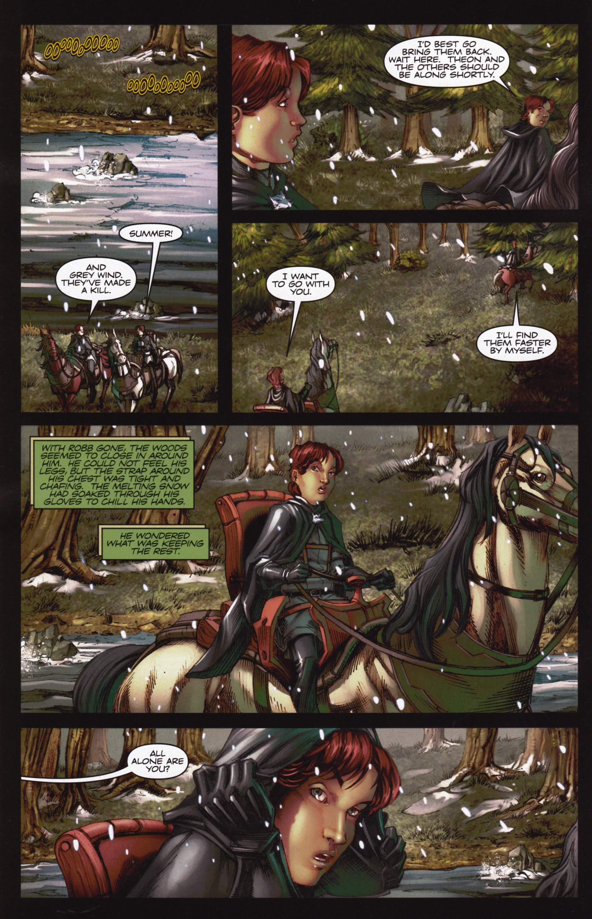 Read online A Game Of Thrones comic -  Issue #12 - 6