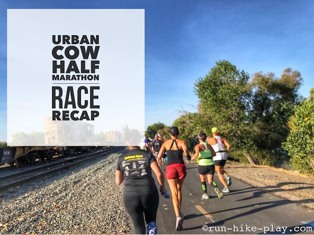 Urban Cow Half Marathon Race Recap 10/1/17