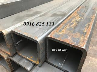 Cung cấp thép hộp dày từ 3li -12li, hộp từ vuông 20 -300, hộp từ 10x20 -150x300