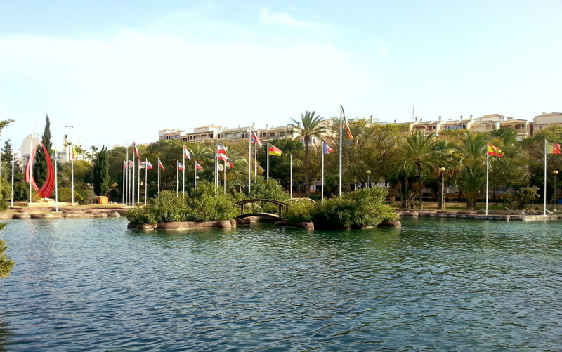 The most beautiful park in Torrevieja