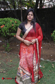 Actress Sasi Pictures in Red Saree at Manjal Movie Audio Launch 0011