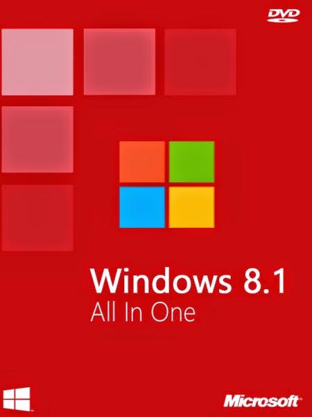Windows 8.1 AIO x64 update terbaru 2015
