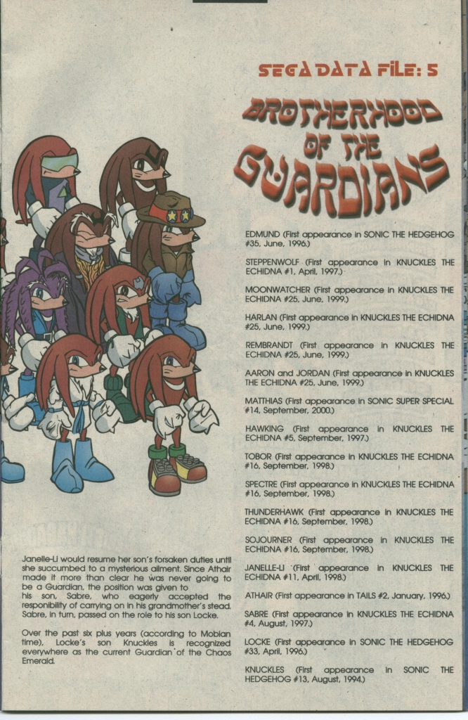 Read online Sonic The Hedgehog comic -  Issue #112 - 23