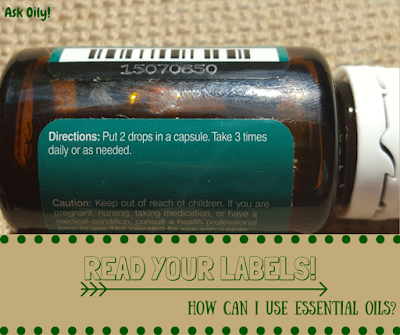 Read Your Labels To Learn How to Use Essential Oils | Hot Pink Crunch