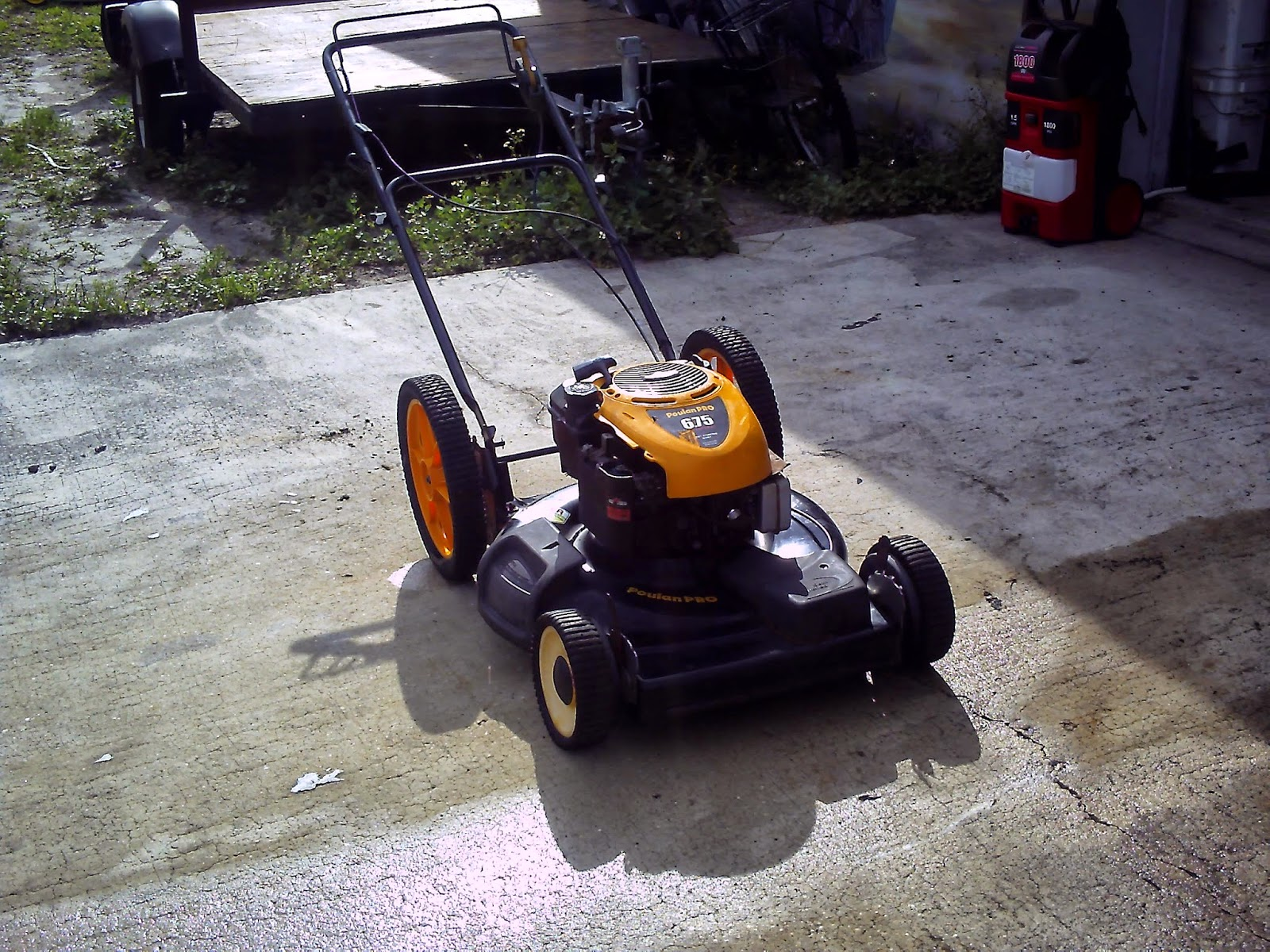 Terry S Small Engine Repair Poulan Pro Self Propelled Mower 6 75 Hp 350 00