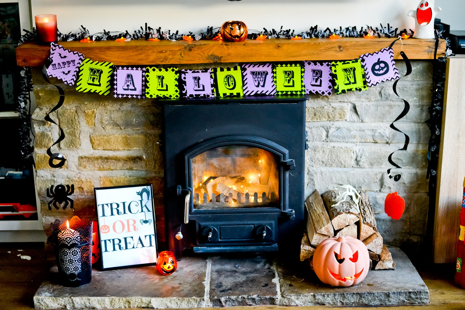 halloween home decor,