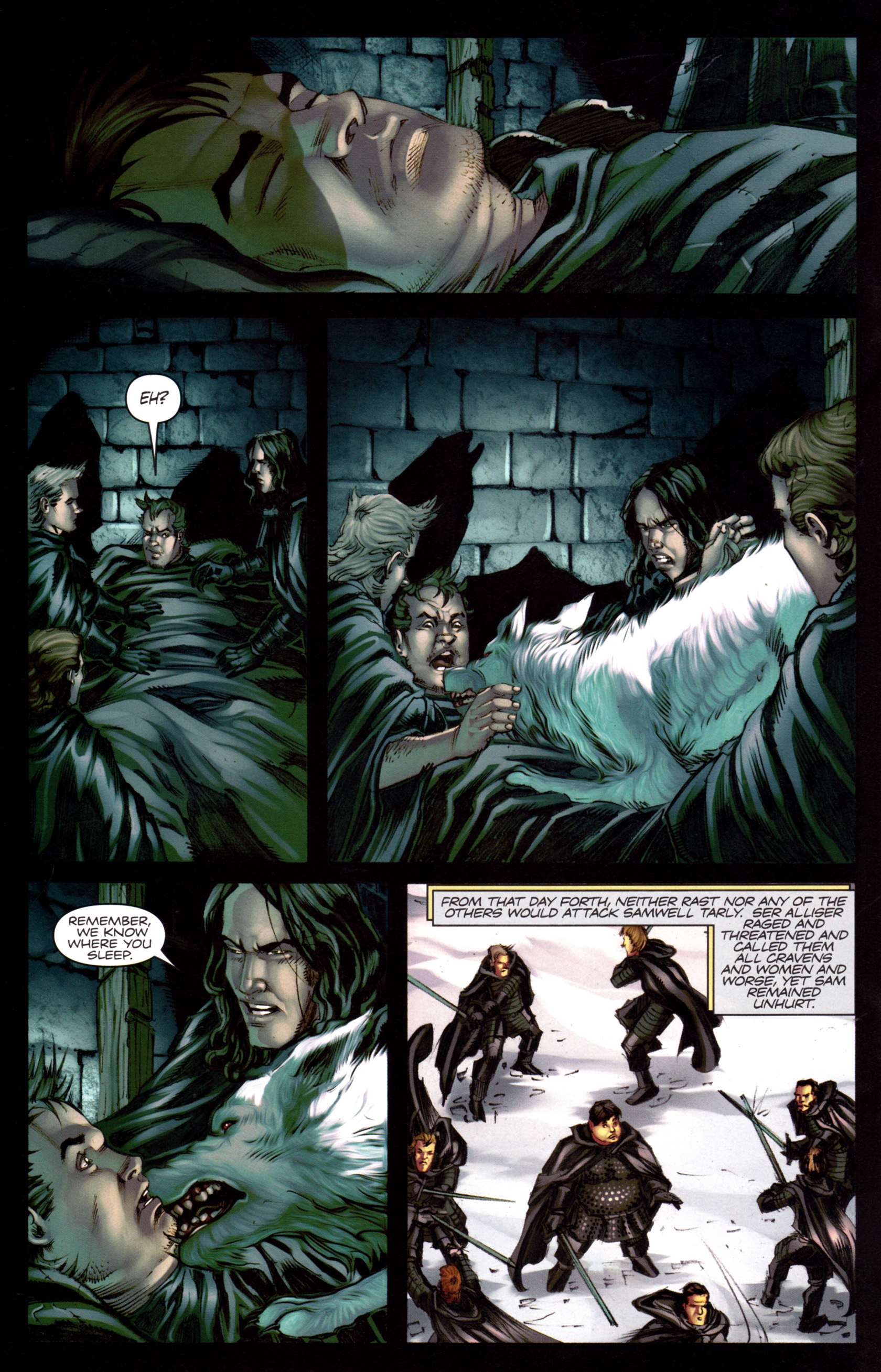 Read online A Game Of Thrones comic -  Issue #8 - 22
