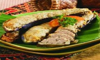 Terung Isi Daging Khas Kalimantan Barat