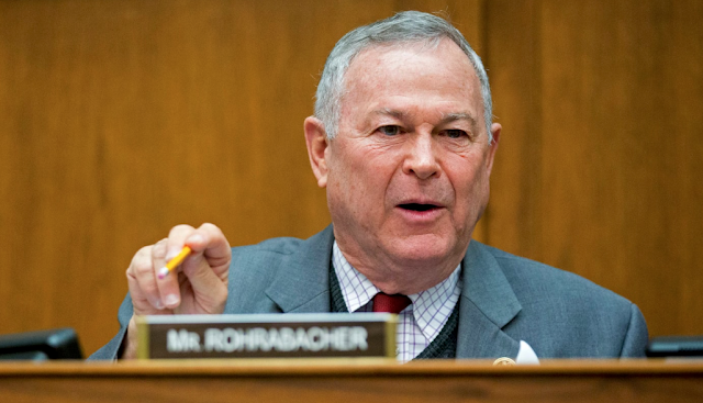 In an already tough election year, Republican Dana Rohrabacher is struggling with his own party