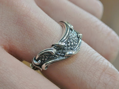 Legio Made - Scale & Arabesque Ring