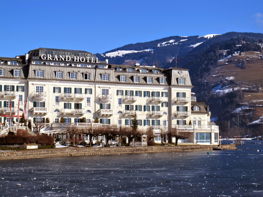Grand Hotel in Zell Am See, Austria