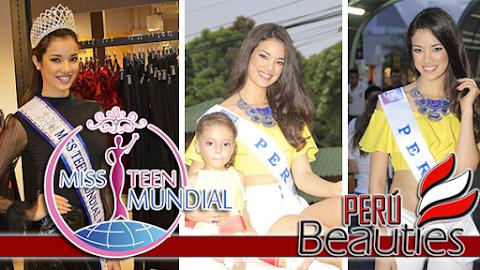 Sofia Cajo en Miss Teen Mundial 2017