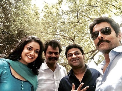 Vikram, Prabhu, Sadha, Keerthy Suresh and Soori Tamil movie Saamy Square 2018 wiki, full star-cast, Release date, Actor, actress, Song name, photo, poster, trailer, wallpaper