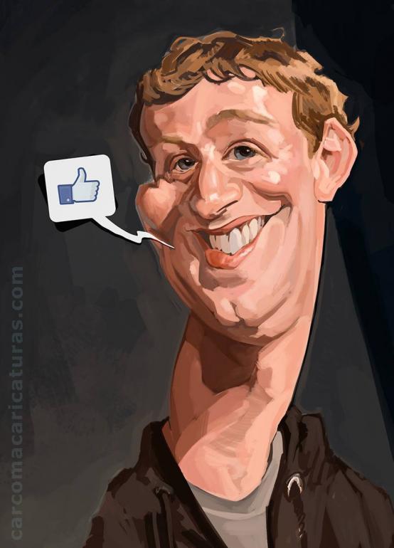 Mark Zuckerberg por Carlos Carcoma