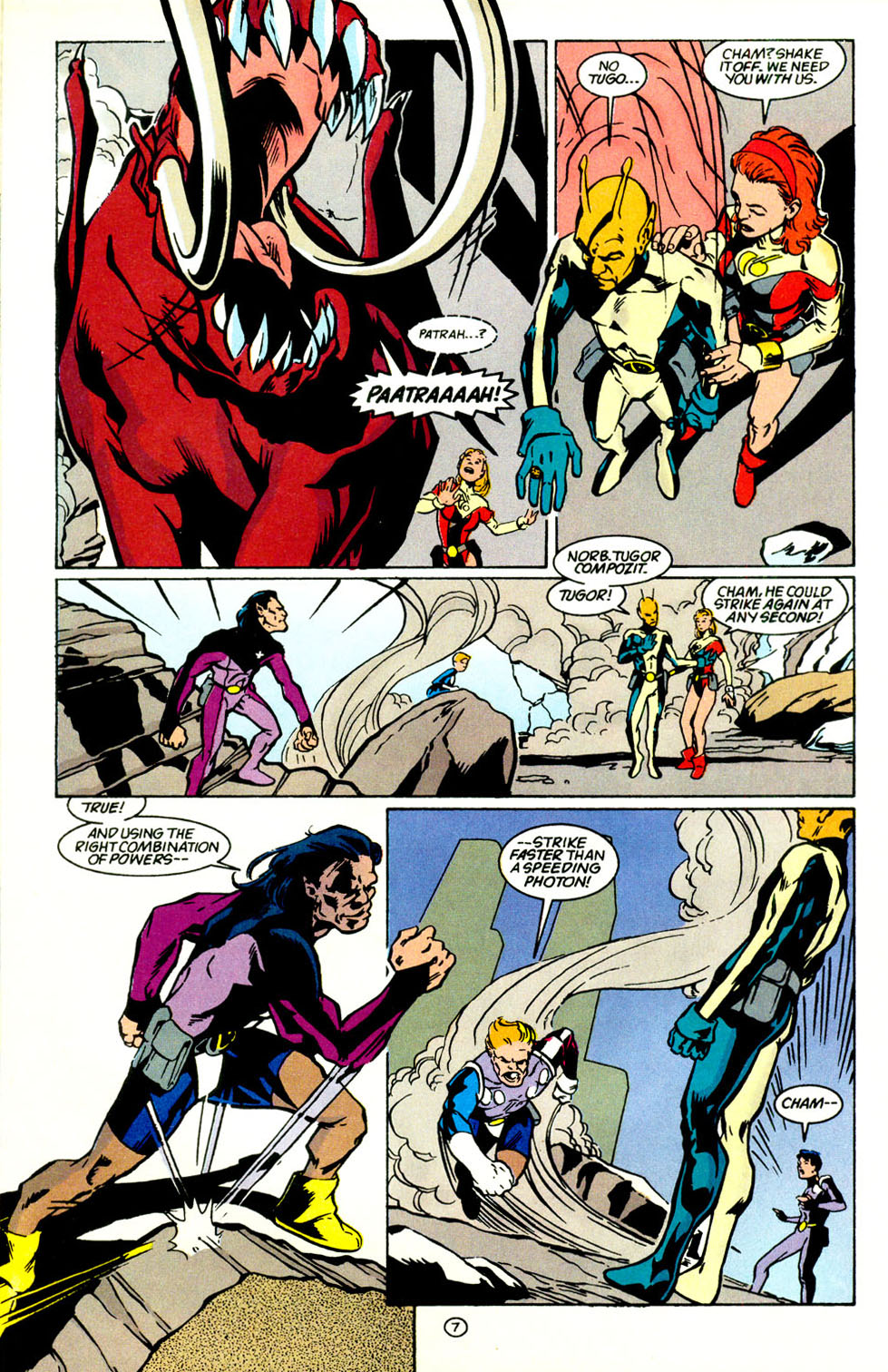 Legion of Super-Heroes (1989) 69 Page 8