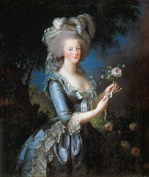 Marie Antoinette dit à la Rose by Louise Élisabeth Vigée Le Brun, 1783