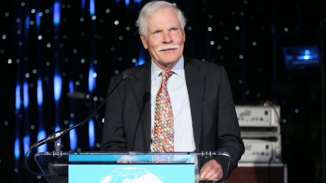 CNN Founder Ted Turner Says Network Is Too Heavy on Politics