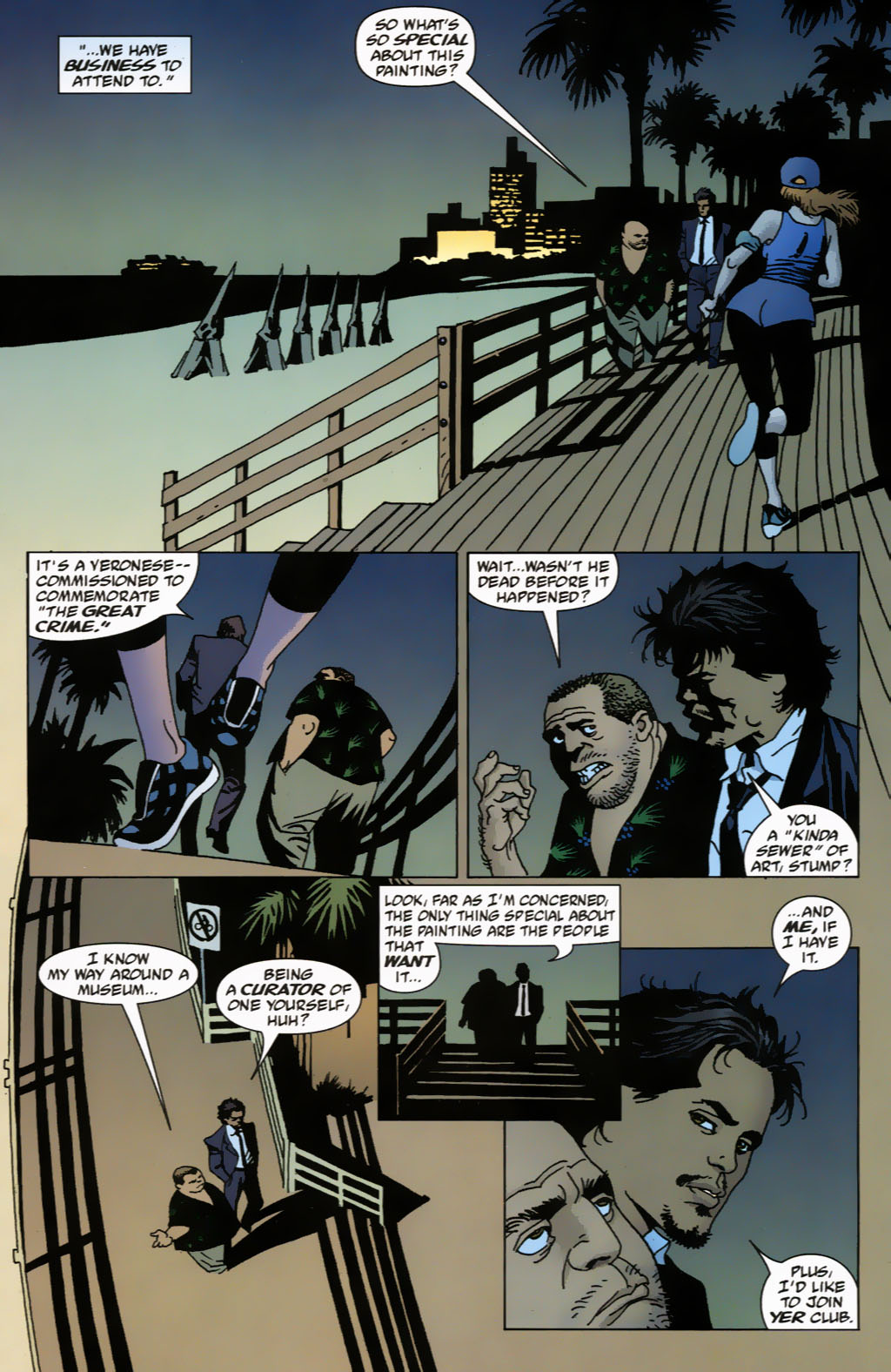Read online 100 Bullets comic -  Issue #63 - 6
