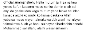 Samun masoyi na gaskiya akwai wuya-Umma Shehu