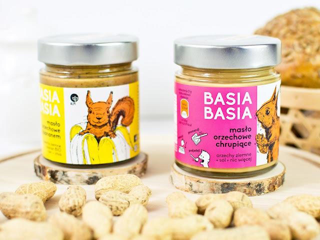 Masło orzechowe Basia Basia od Alpi Hummus - produkt miesiąca #08