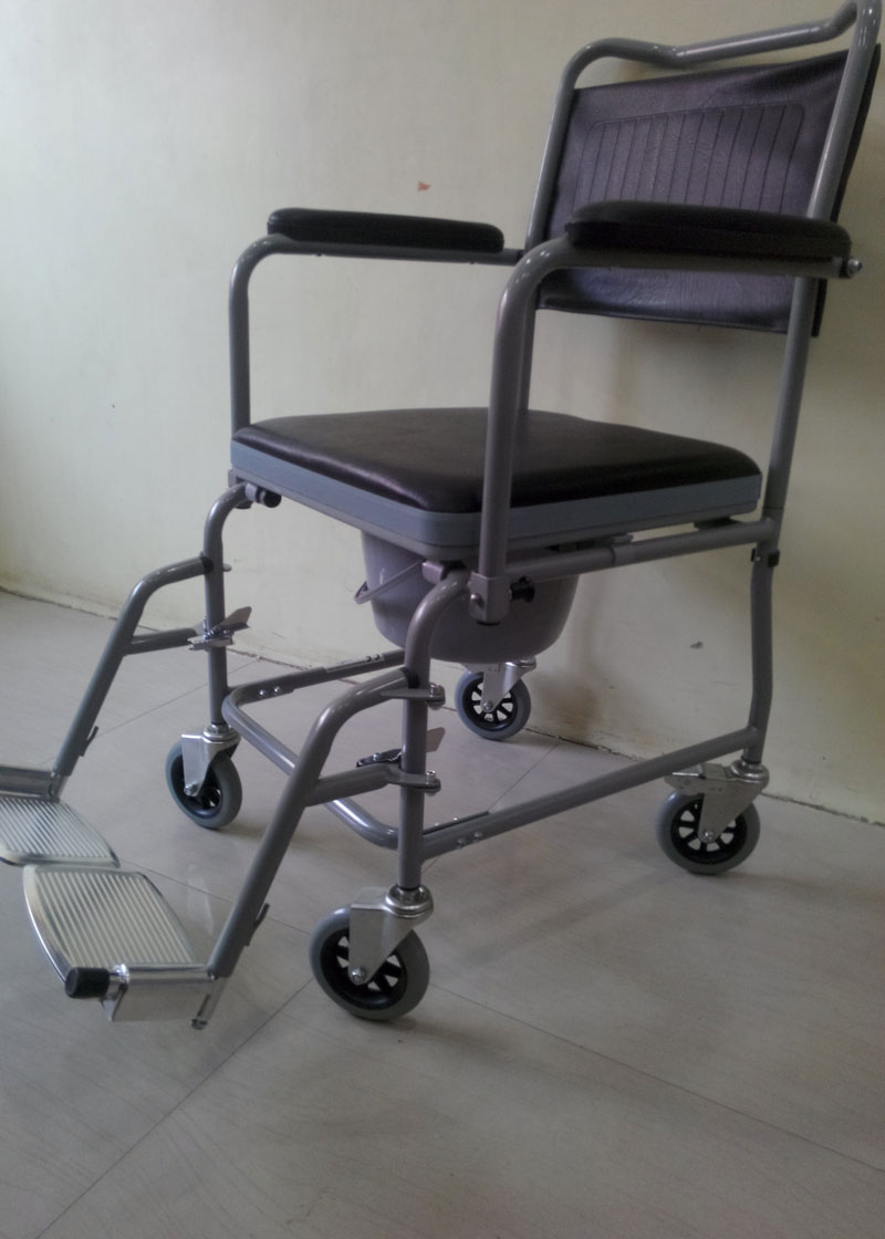 Commode Bedside Chair For Elderly ~ Wheelchair India ...