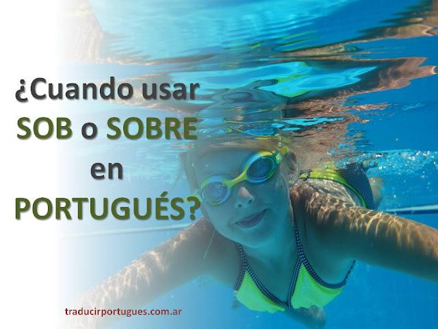 Sob en portugués