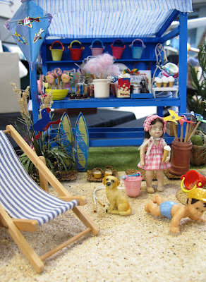 One-twelfth scale seaside stall.