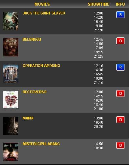 Jadwal Cinema Borobudur Pekalongan : jadwal, cinema, borobudur, pekalongan, Bioskop, Pekalongan