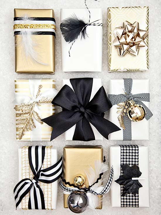 10 Unique Gift Wrapping Ideas /// From Design Fixation