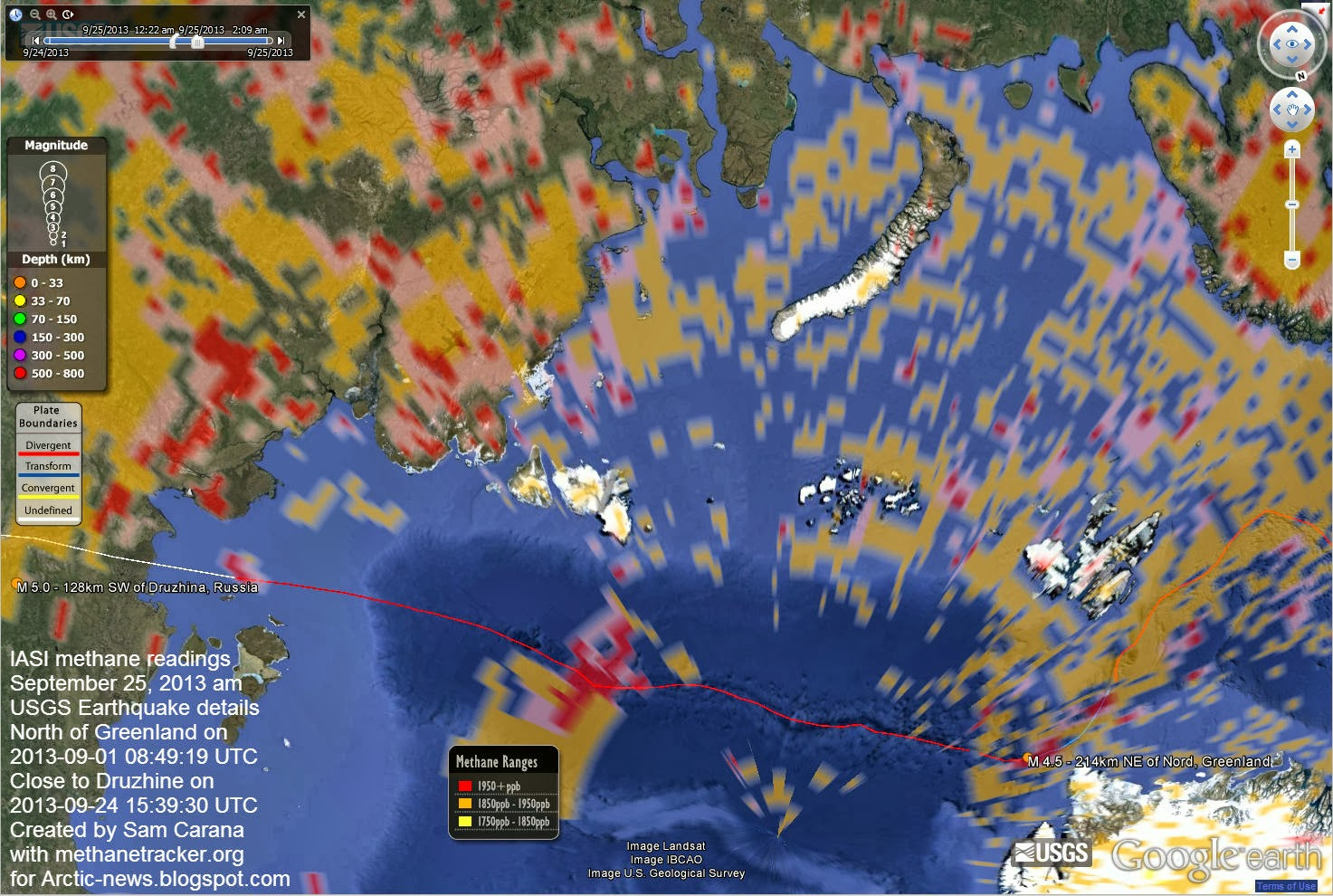 Arctic News Methane Release Caused By Earthquakes