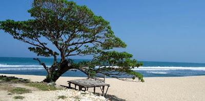 Wisata pantai pok tunggal