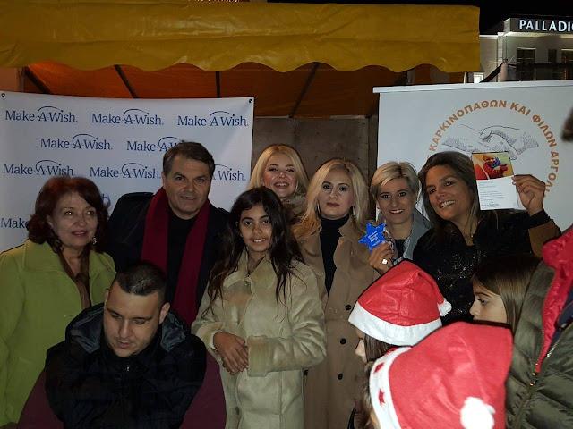 Η ευαισθησία των πολιτών κέρδισε το «Αστέρι της Ευχής» στην Χριστουγεννιάτικη εκδηλωση στο Άργος