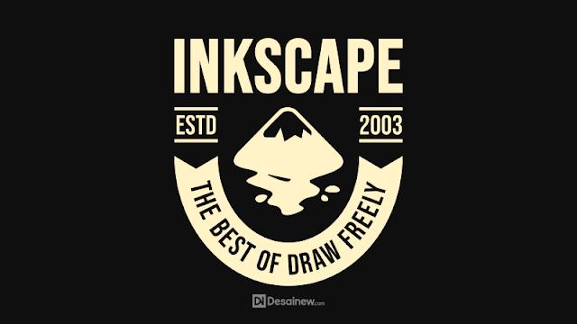 How to Create Retro Badge Design Tutorial in Inkscape Desainew Studio Adobe Illustrator Corel Draw