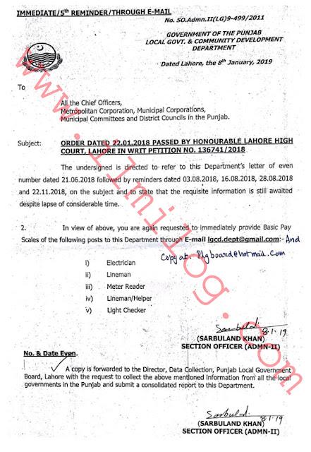 High Court Writ Basic Of Payroll 2019