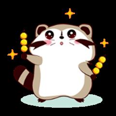 North American Raccoon (V8 - Nice Food)