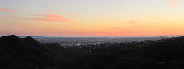 Dusk in Griffith Park
