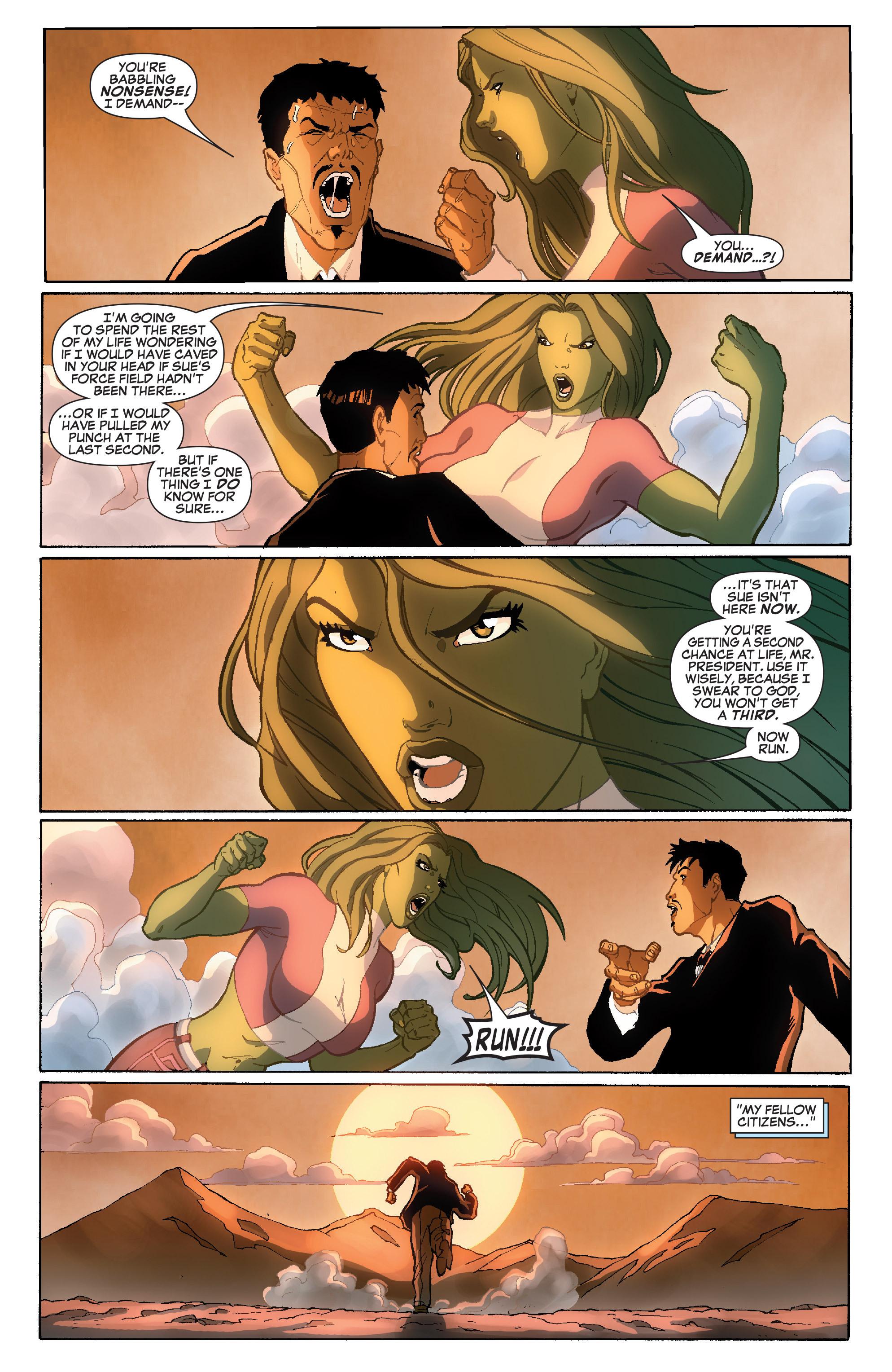 Read online She-Hulk (2005) comic -  Issue #36 - 23