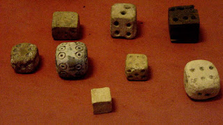 Ancient Egyptian play dice