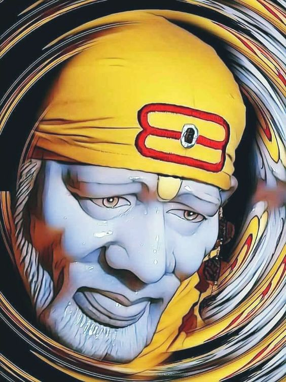 Shirdi Sai Baba Photo for Mobile