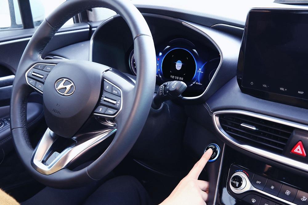Hyundai reveals world's first smart fingerprint technology to vehicles