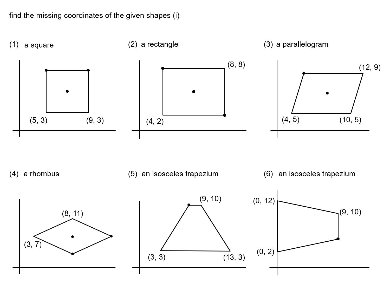 Median Don Steward Mathematics Teaching Quadrilaterals And Coordinates