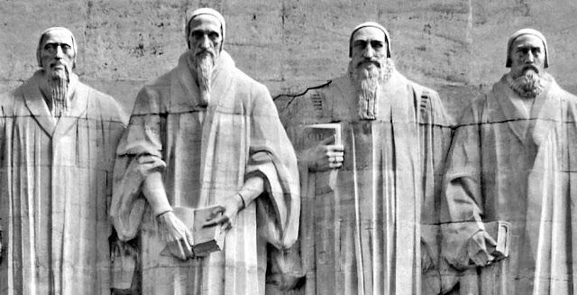 Estátuas dos Reformadores da Igreja