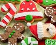 Foto Kue Kering Natal Candy Nut Cookies