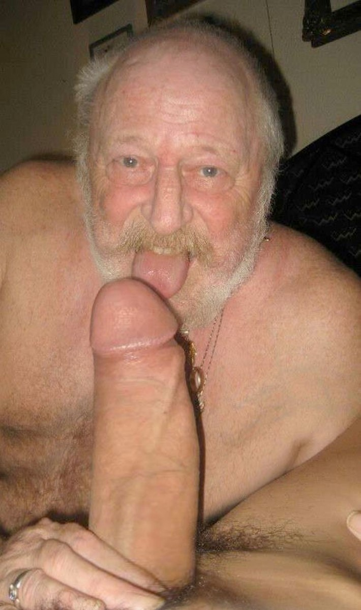 Old dirty cock before showering