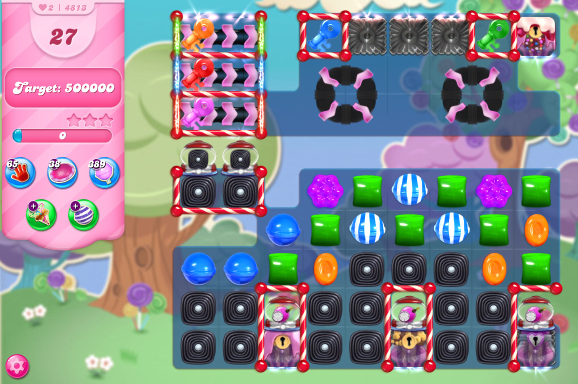 Candy Crush Saga level 4813