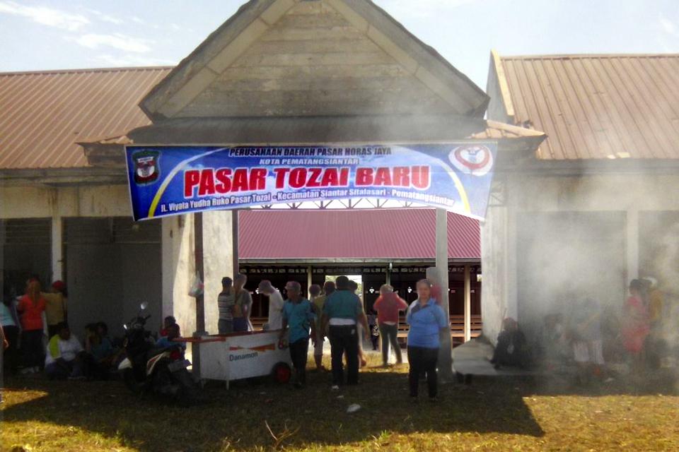 Segera dibuka Pasar Tozai Baru