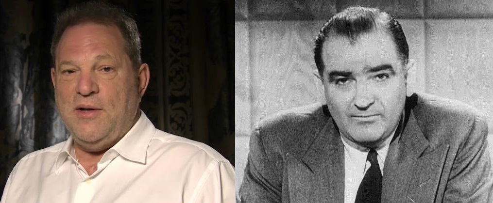 Harvey Weinstein / Joseph McCarthy