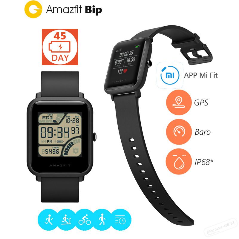 DEKHEKINI.com: XIAOMI AMAZFIT BIP SMART WATCH (ENGLISH ...