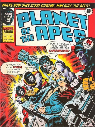 Apeslayer, Planet of the Apes #29