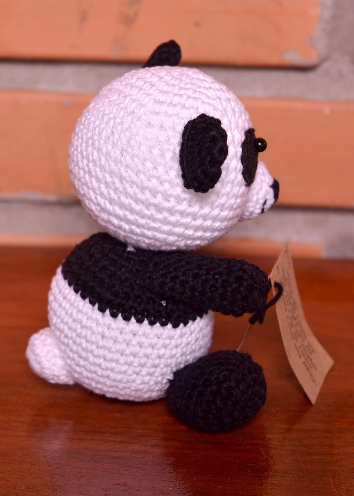 Panda Amigurumi Crochet Tutorial Part 1 - YouTube | 1600x1143